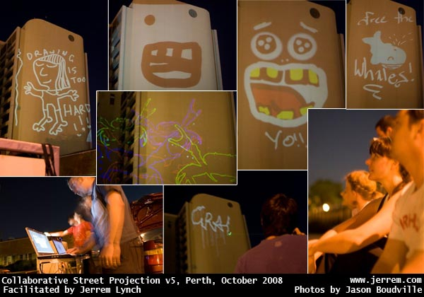 images from Collaborative Street Projections v5